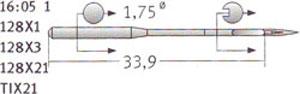 128x1 Groz Beckert Needles