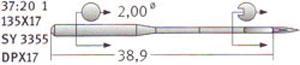 37:20 135x17 Schmetz Needles