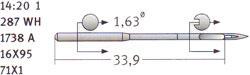 16x95 Groz Beckert Needles