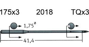 175x3 Groz Beckert Needles