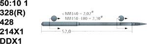 50:10 1 214X1 Schmetz Needles