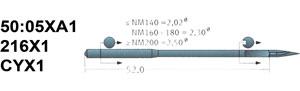 50:05XA1 216X1 Schmetz Needles