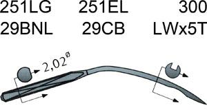 251 LG Groz Beckert Needles