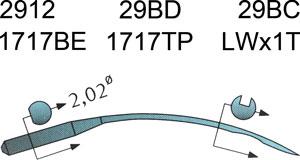 29BD Groz Beckert Needles