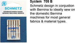 Schmetz Bernina Needles