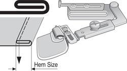 Suisei Full Fold Swing Hemmers