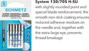 Schmetz Super Universal Needles