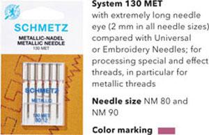 Schmetz Metallic Needles